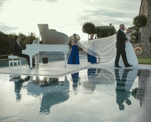 Piano para bodas