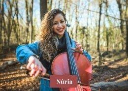 Núria violoncelista