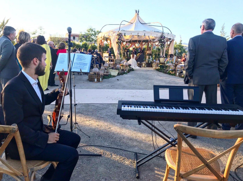 David violinista para bodas