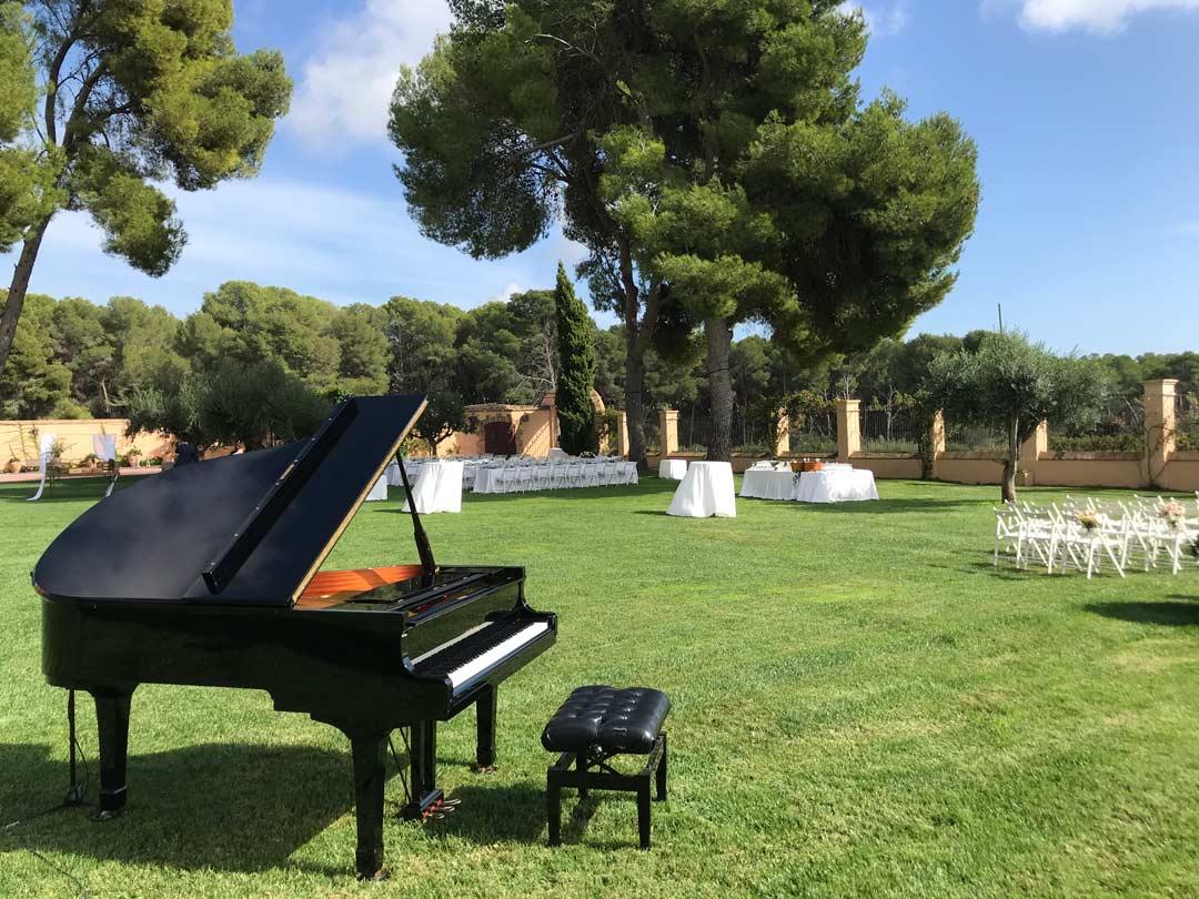 Piano cola ceremonia