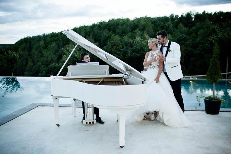 Boda de Lina & Benoit - el Piano de tu Boda