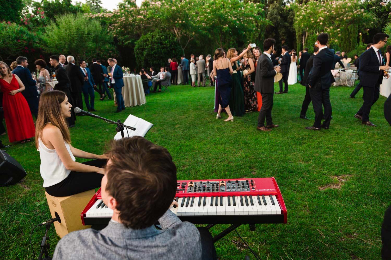 Dúo pianista cantante para bodas