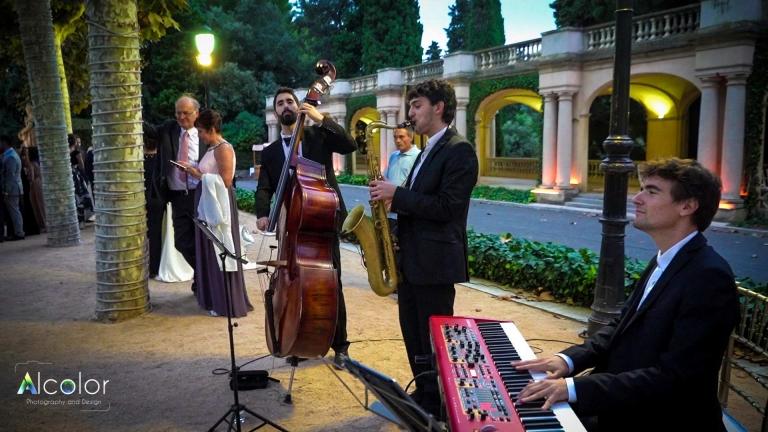 trio jazz boda