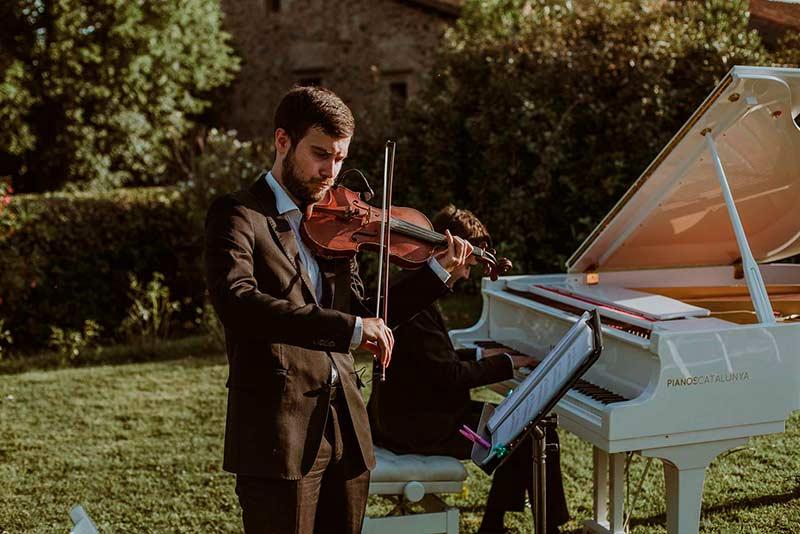 Violinista para bodas