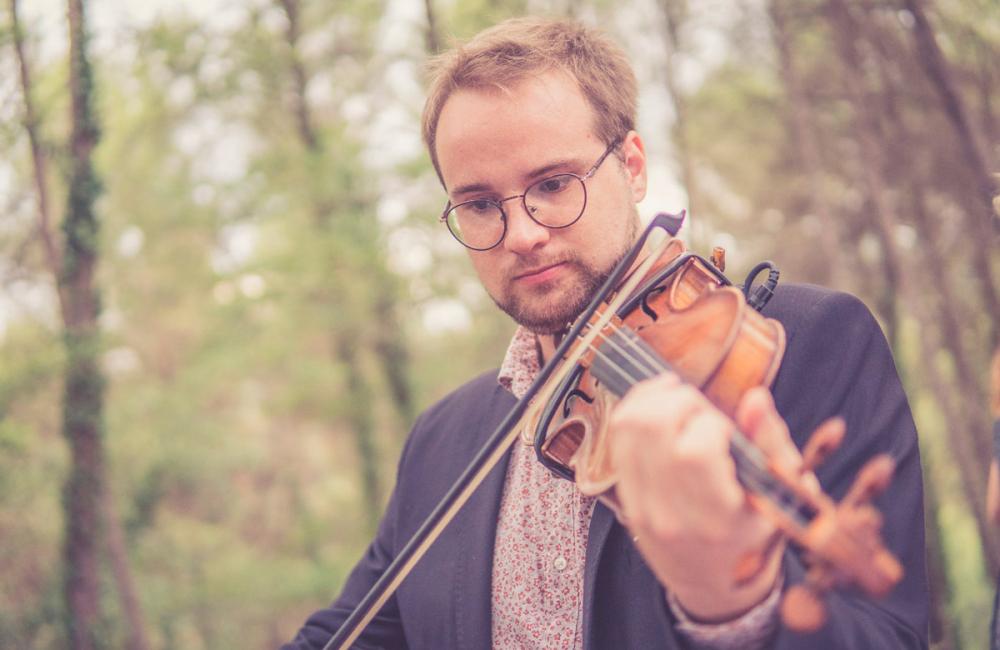 Violinista en la boda de Blanca&Fede - El piano de tu boda